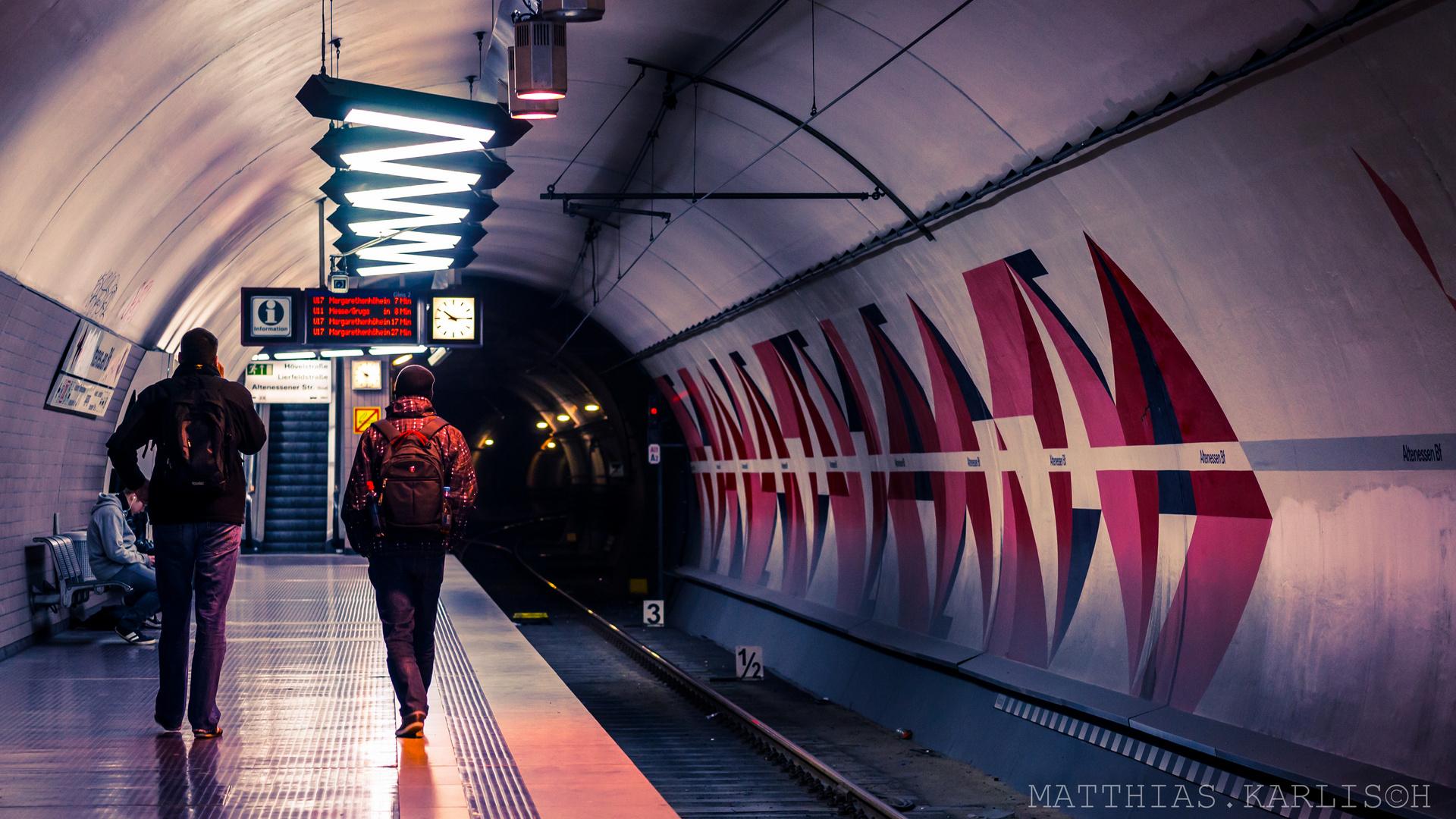 """U-Bahn Station """"Essen Altenessen"""""""