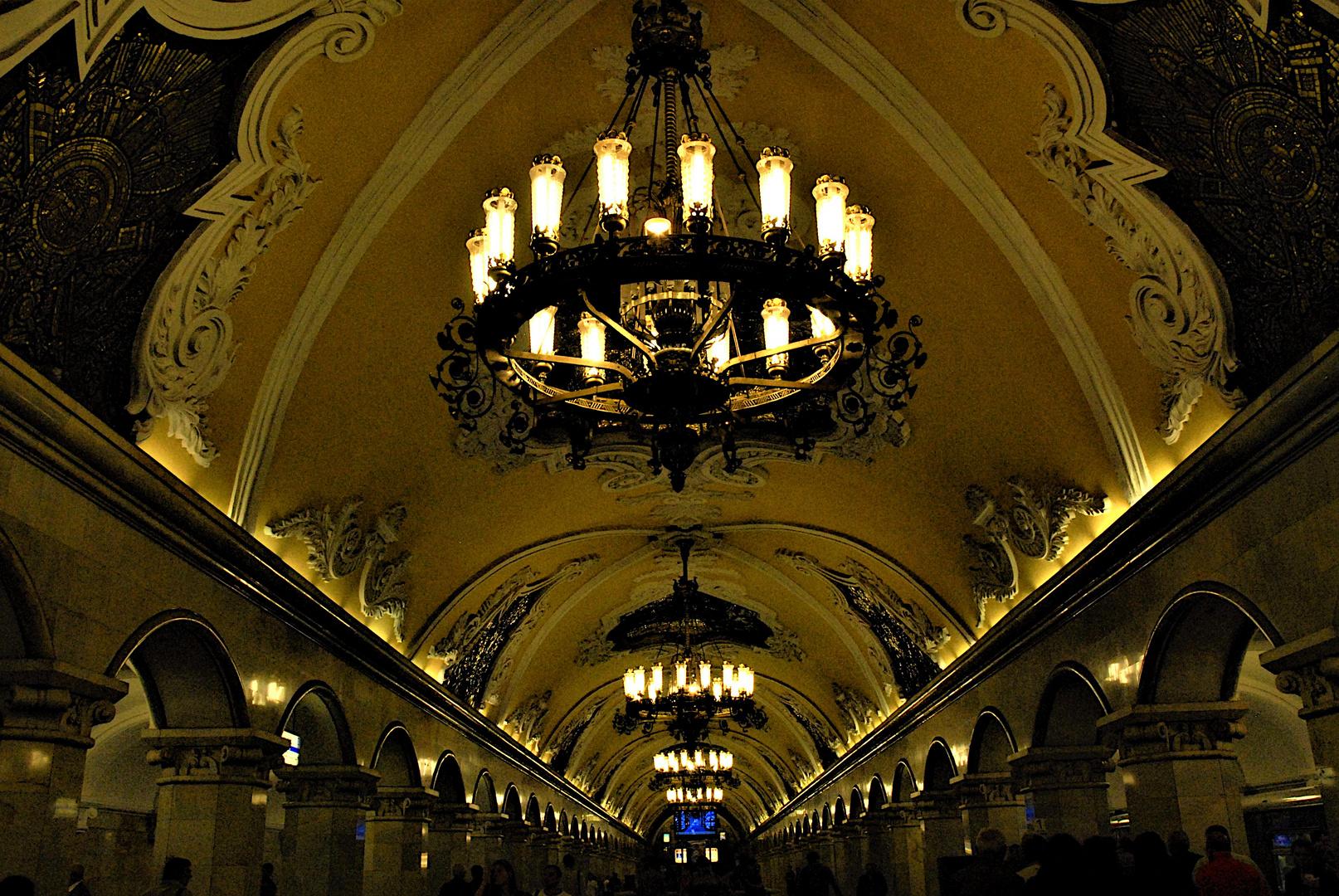 U Bahn Moskau