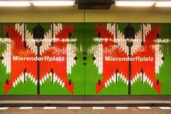 U-Bahn Station Mierendorffplatz