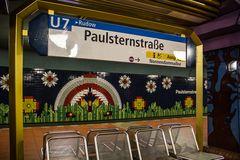 U-Bahn-Station Paulsternstraße