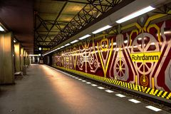 U-Bahn Station Rohrdamm