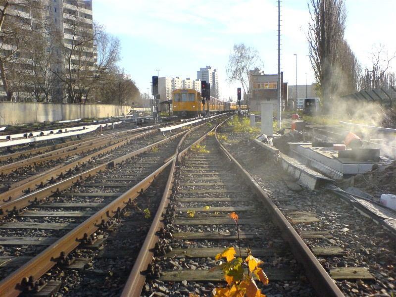 U-Bahnbetriebswerk Friedrichsfelde in Berlin