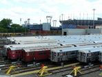 U-Bahndepot in Flushing-Queens NY
