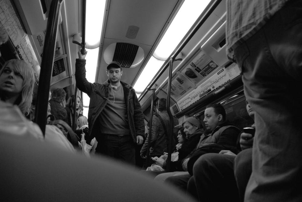 U-Bahnfahrt in London