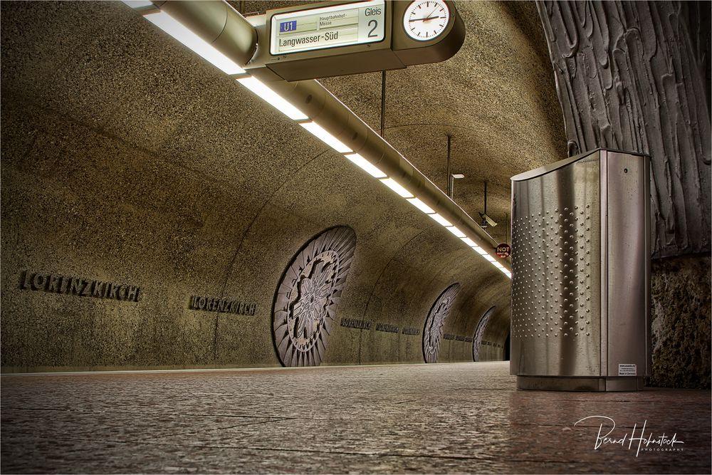 U-Bahnhof Lorenzkirche ...