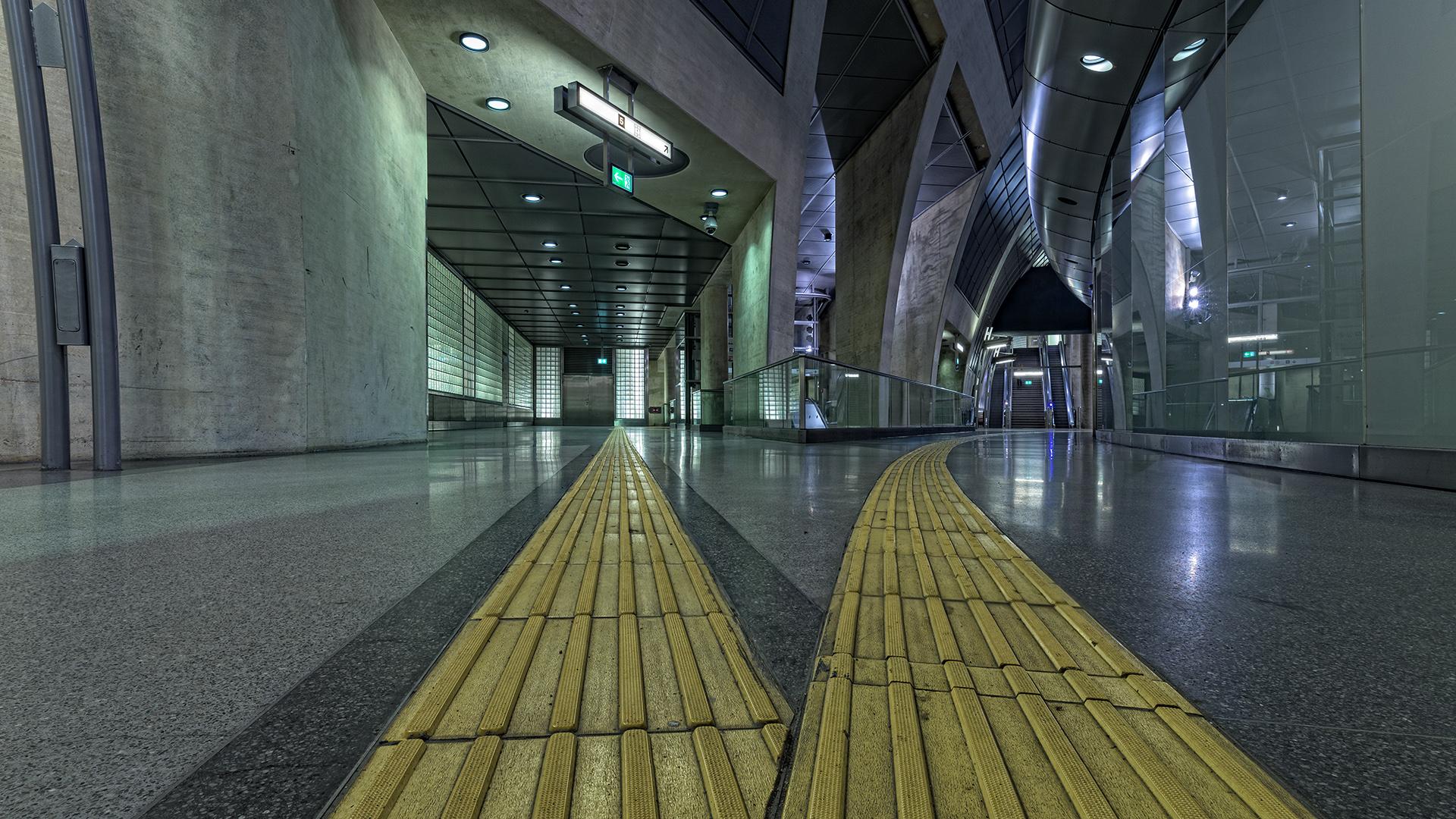 U-Bahnstation am Heumarkt
