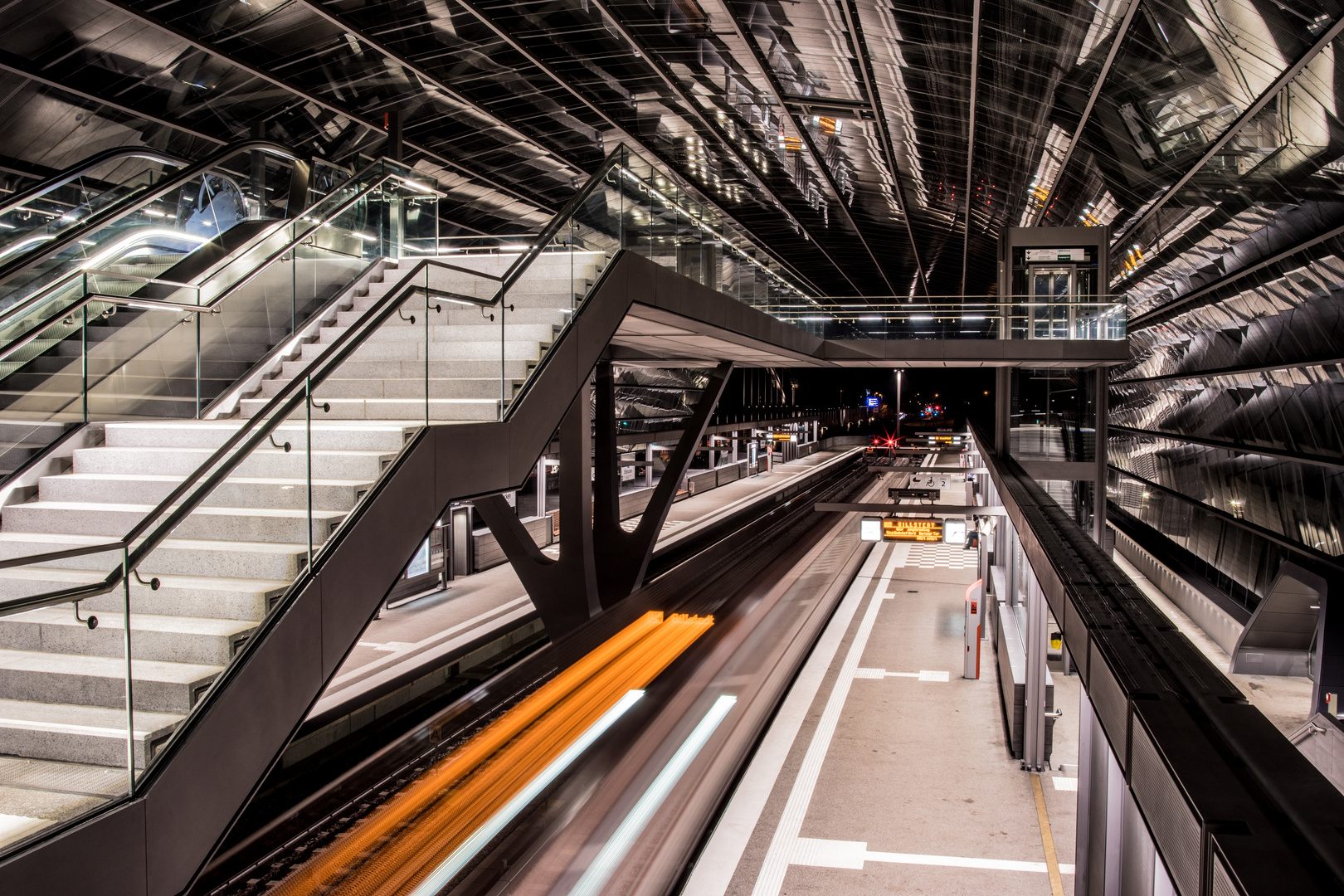 U-Bahnstation ELBBRÜCKEN IV