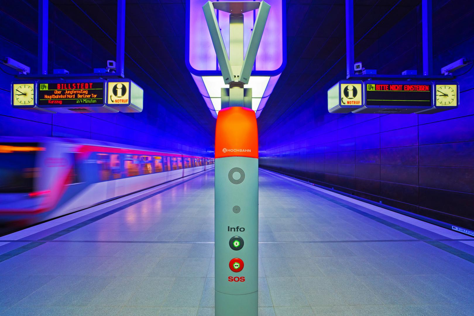 "U-Bahnstation ""HafenCity Universität"""