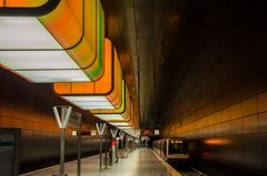 U-Bahnstation Hamburg City Uni