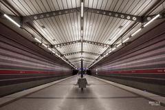 U-Bahnstation Harthof in München