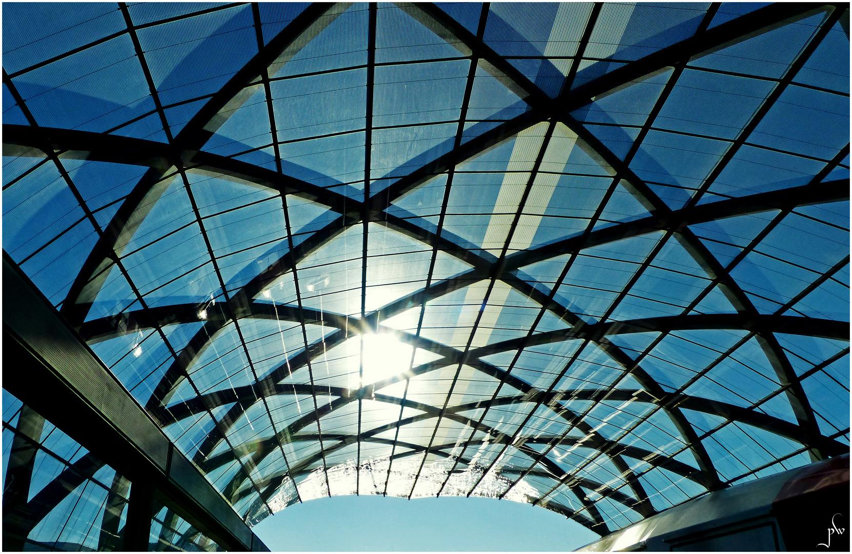 U-Bahnstation U 4 HafenCity - Elbbrücken - Teilansicht