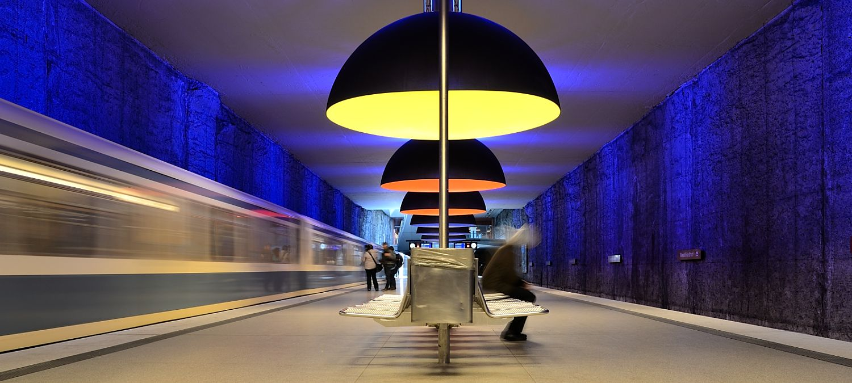 U-Bahnstation Westfriedhof II