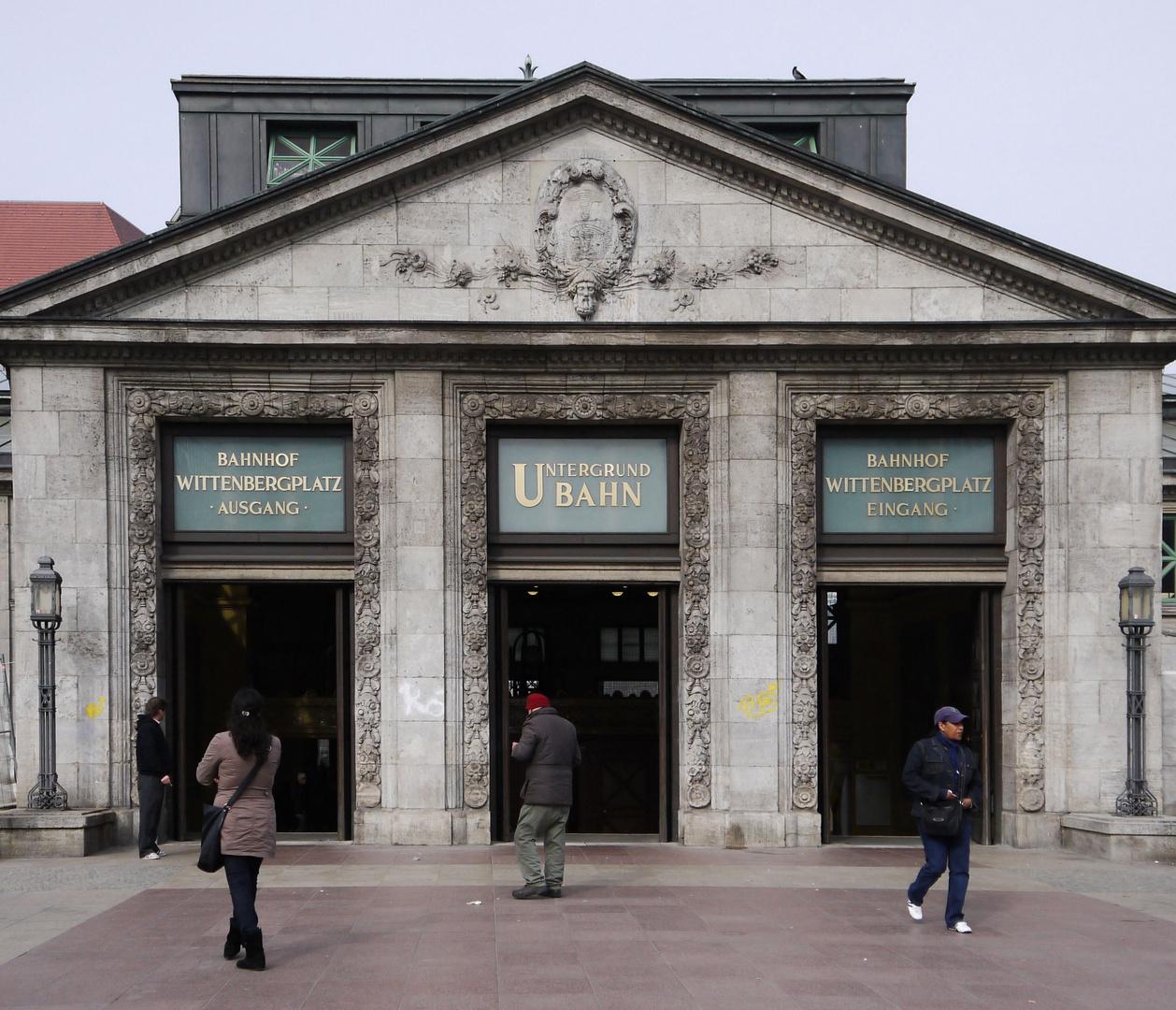 U-Bahnstation Wittenberg-Platz, Berlin