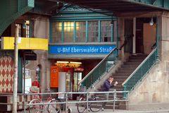 U-Bhf Eberwalder Str in Berlin, Prenzlauer Berg