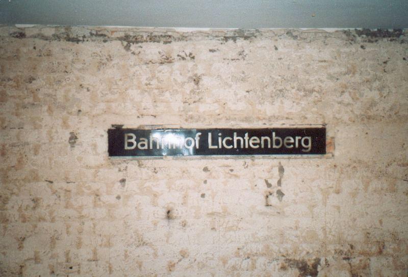 U-BHF Lichtenberg