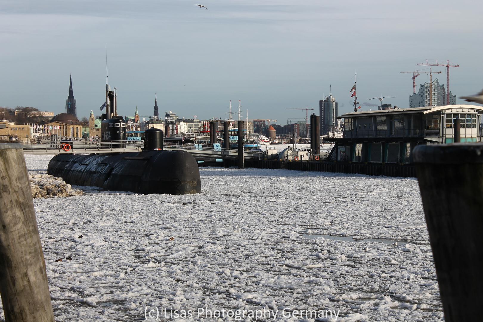 U-Boot im Eis