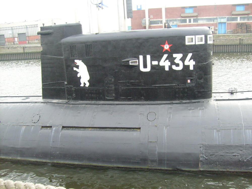 U-Boot U-434 Hamburg
