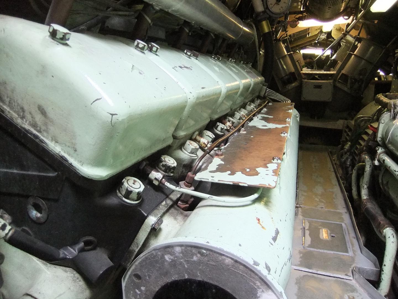 U-Boot U10 Schiffsdiesel