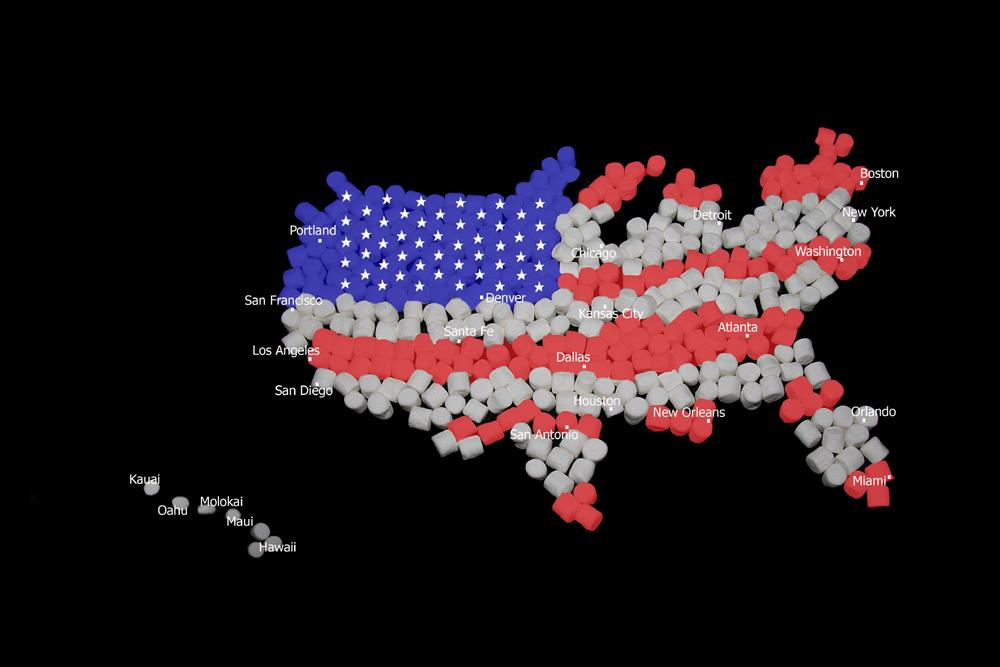 U S A