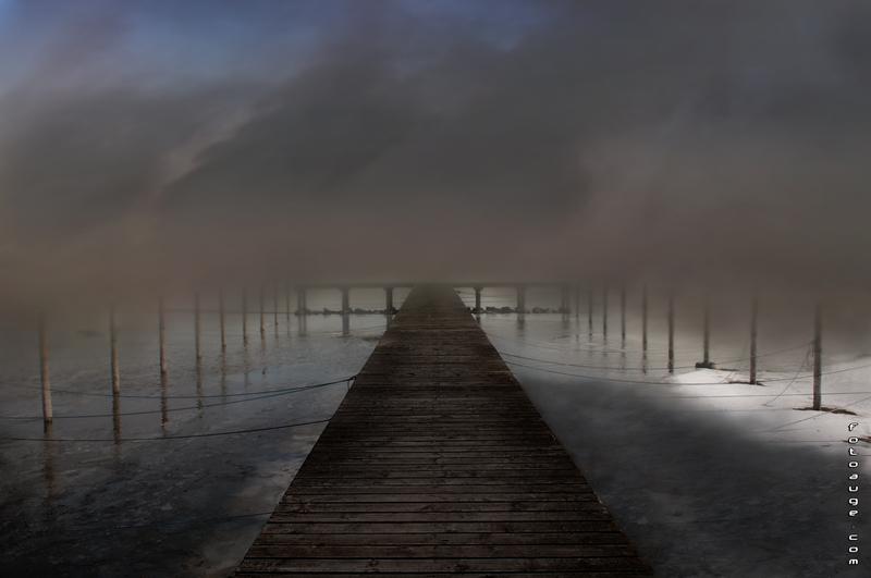 U-See im Nebel