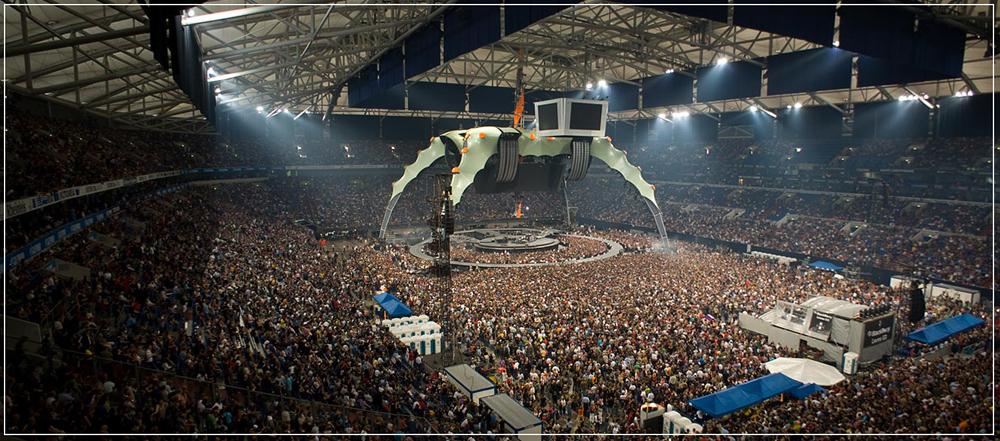 U2 auf Schalke