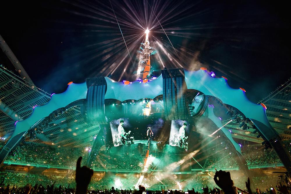U2's spaceship in Athens