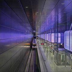* U4 Bahn Hamburg *