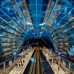 U4Elbbrücken III - Einweihungsillumination U4