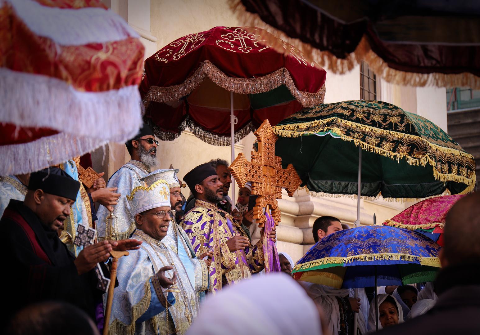 Ua festa etiope a Roma 1