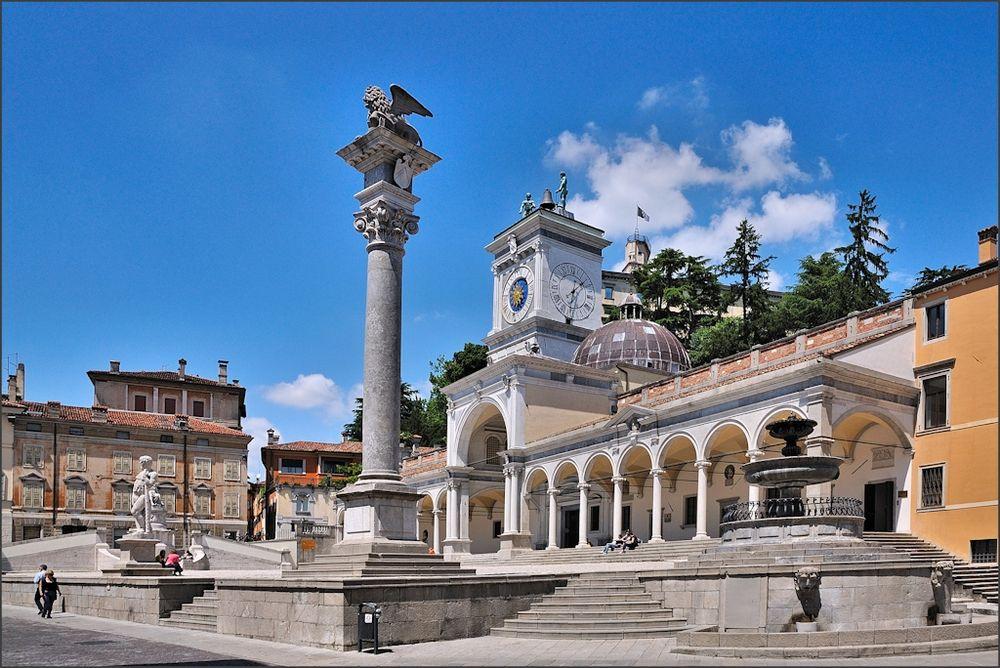 Udine - An der Piazza della Libertà