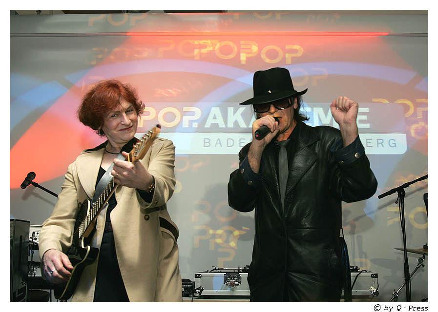 Udo Lindenberg und Carola Kretschmer live