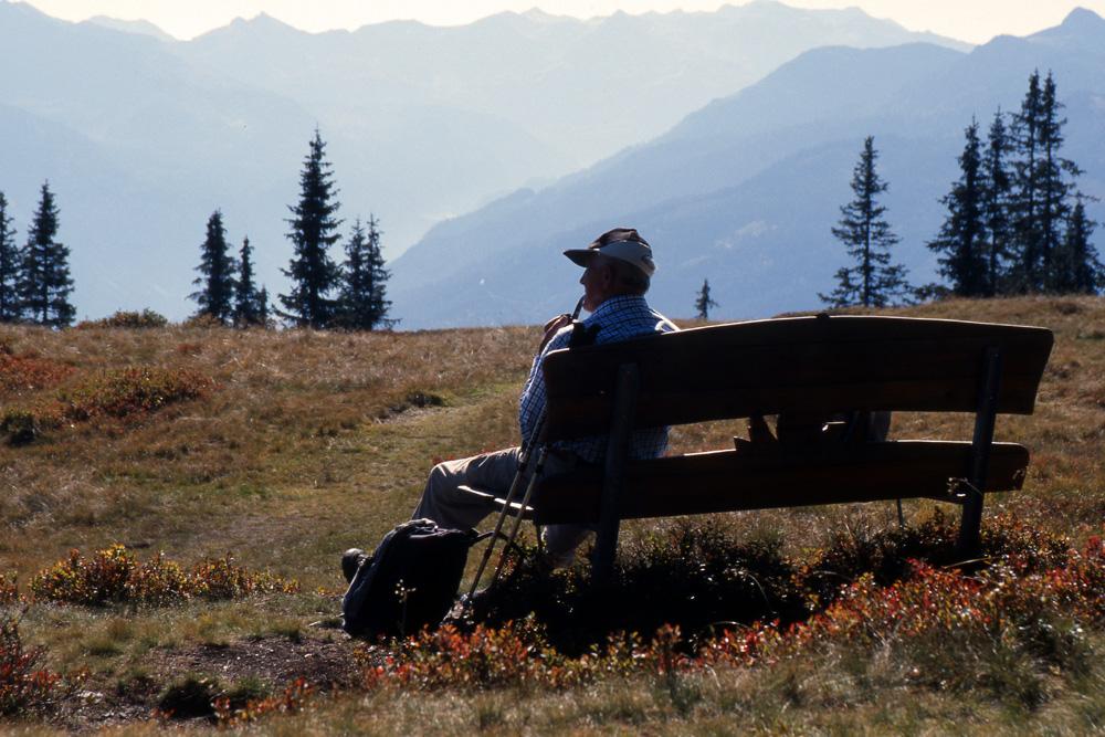 ...über allen Gipfeln ist Ruh'...
