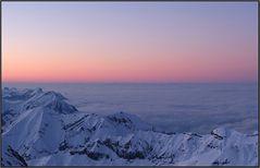 Über allen Gipfeln ist Ruh