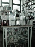 Über das Leben mit Büchern.....