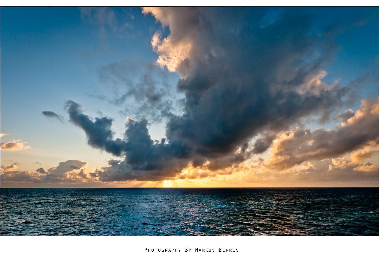 über dem Great Barrier Reef
