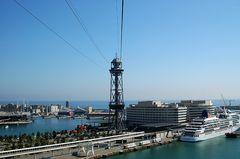 über dem Hafen von Barca