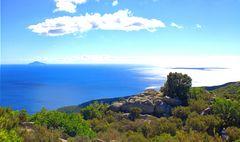 Über dem Mittelmeer