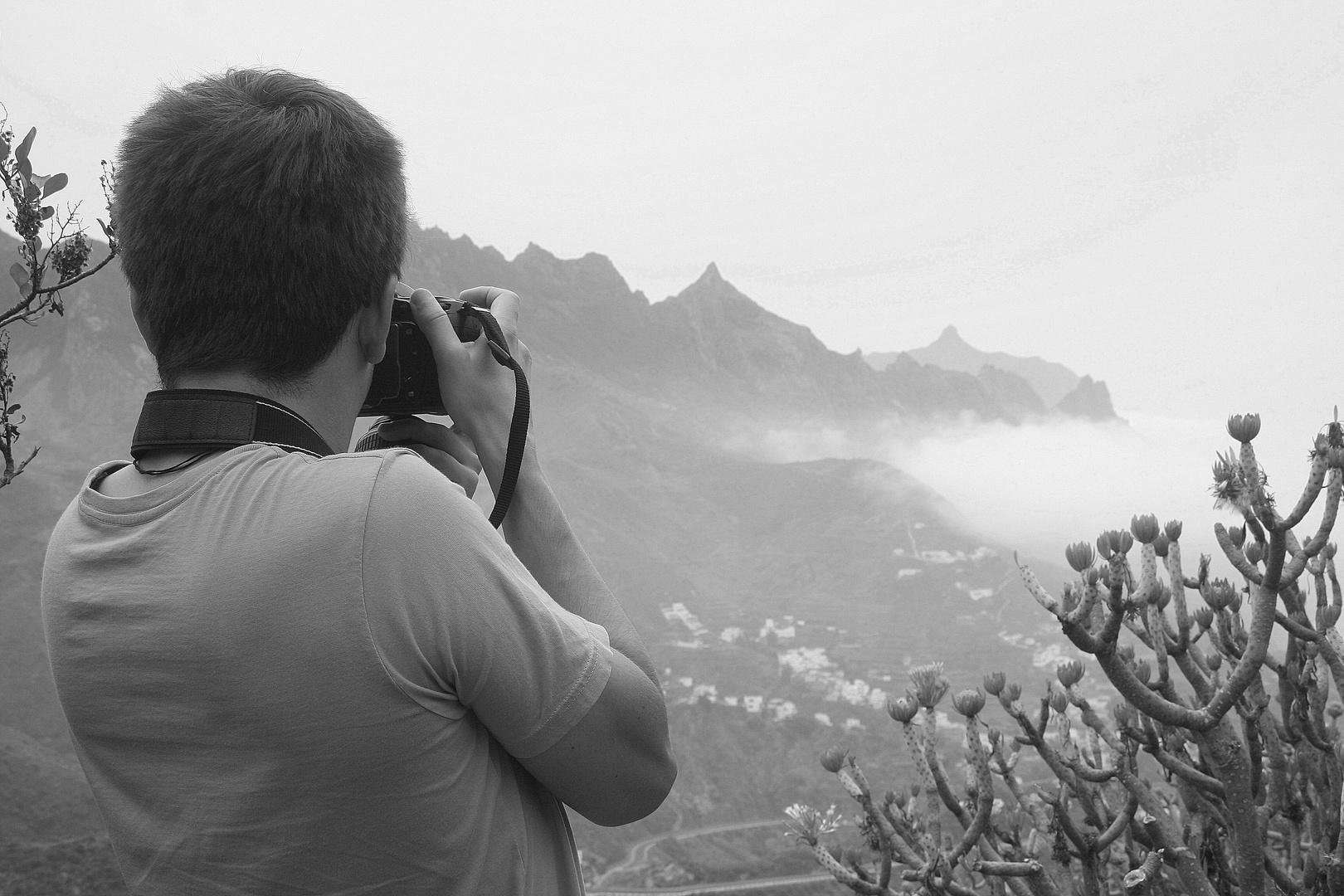 Über dem Nebel ;)