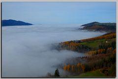 ....über dem Nebel...