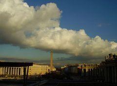 Über dem Peters Platz