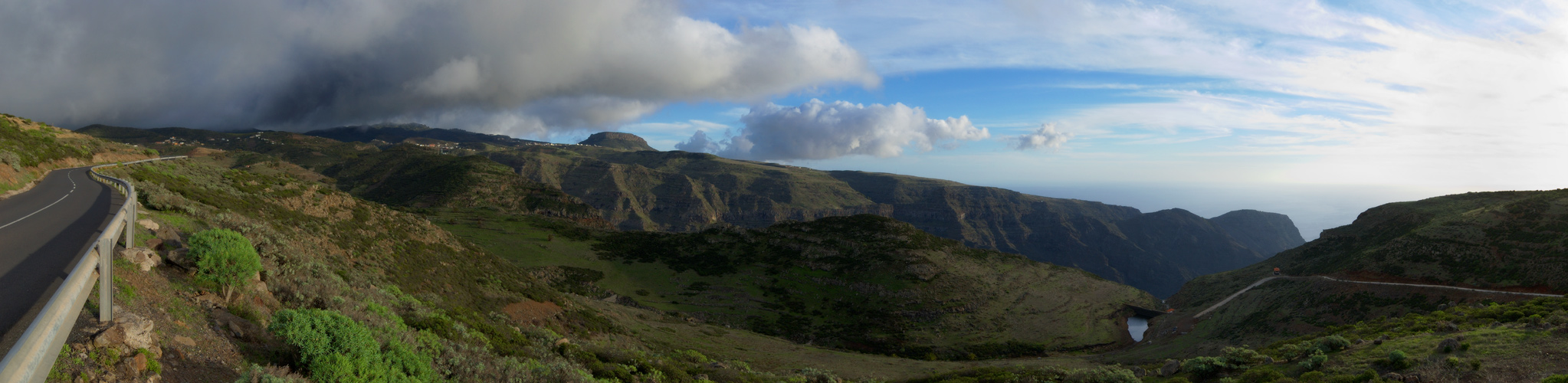 über dem Valle Gran Rey, La Gomera