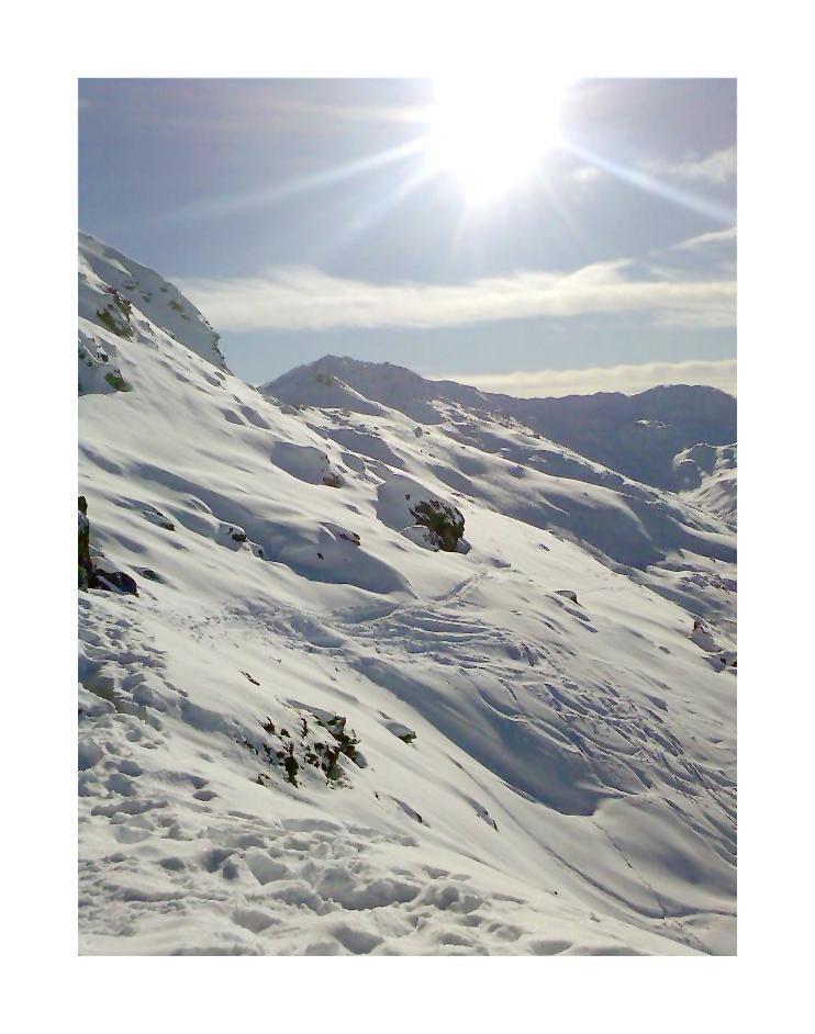 ...über den Bergen, bei den....