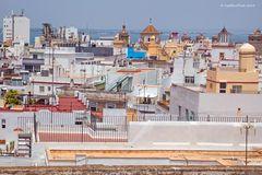 Über den Dächer von Cadiz