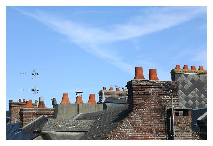Über den Dächern ...