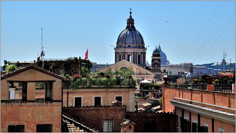 ... über den Dächern ...