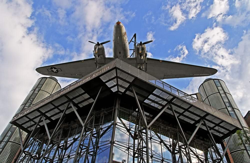 ... über den Dächern Berlins  ...