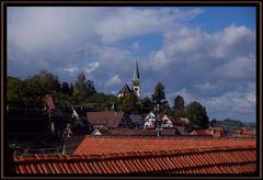Über den Dächern.