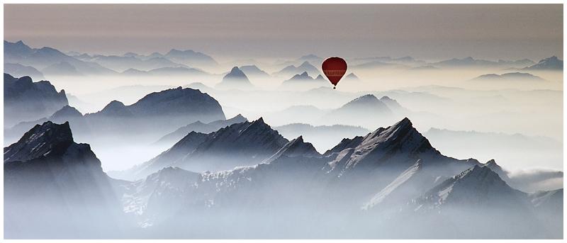 Über den Dächern des Alpstein