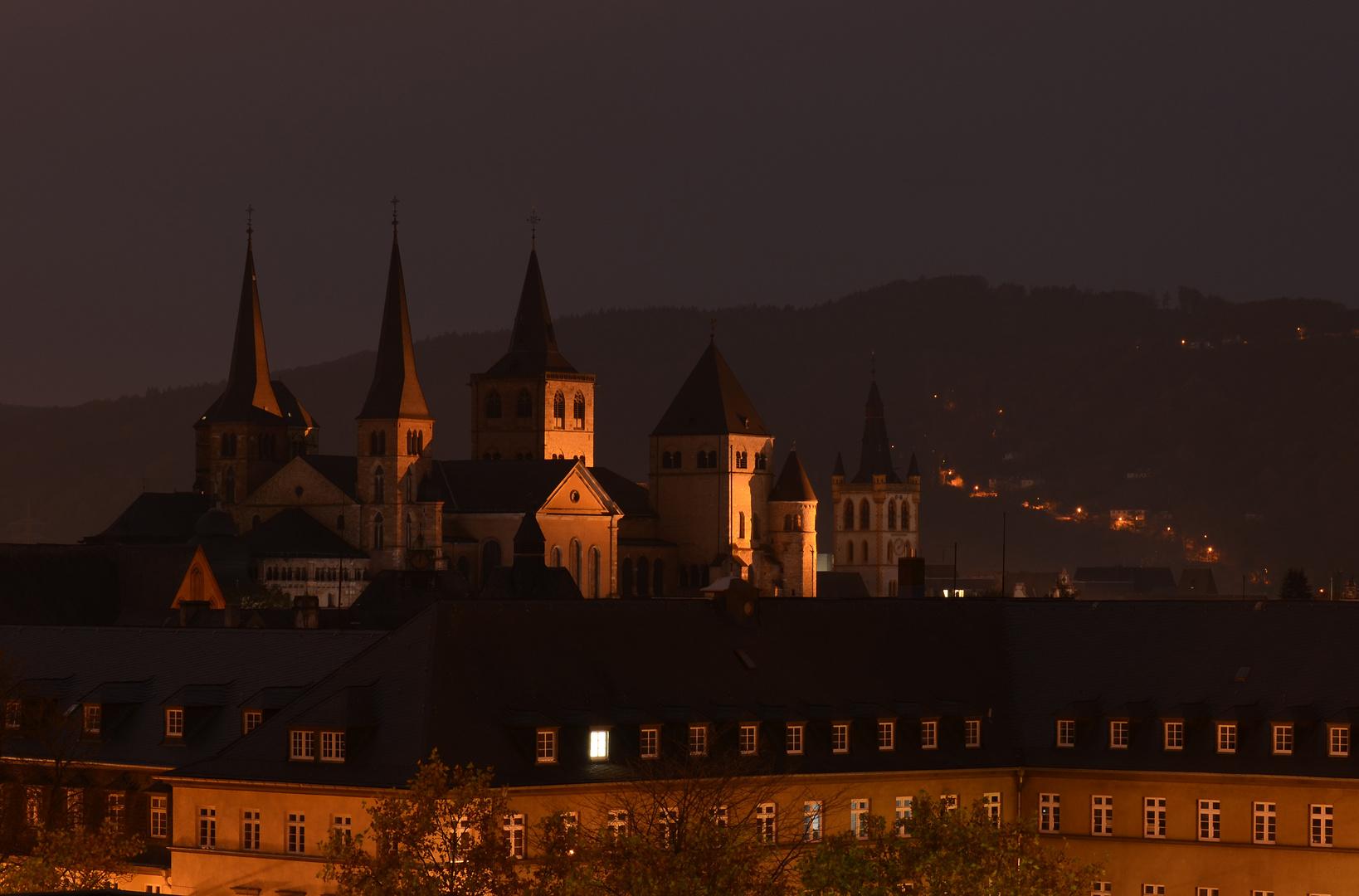 Über den Dächern, des Nachts um Drei....