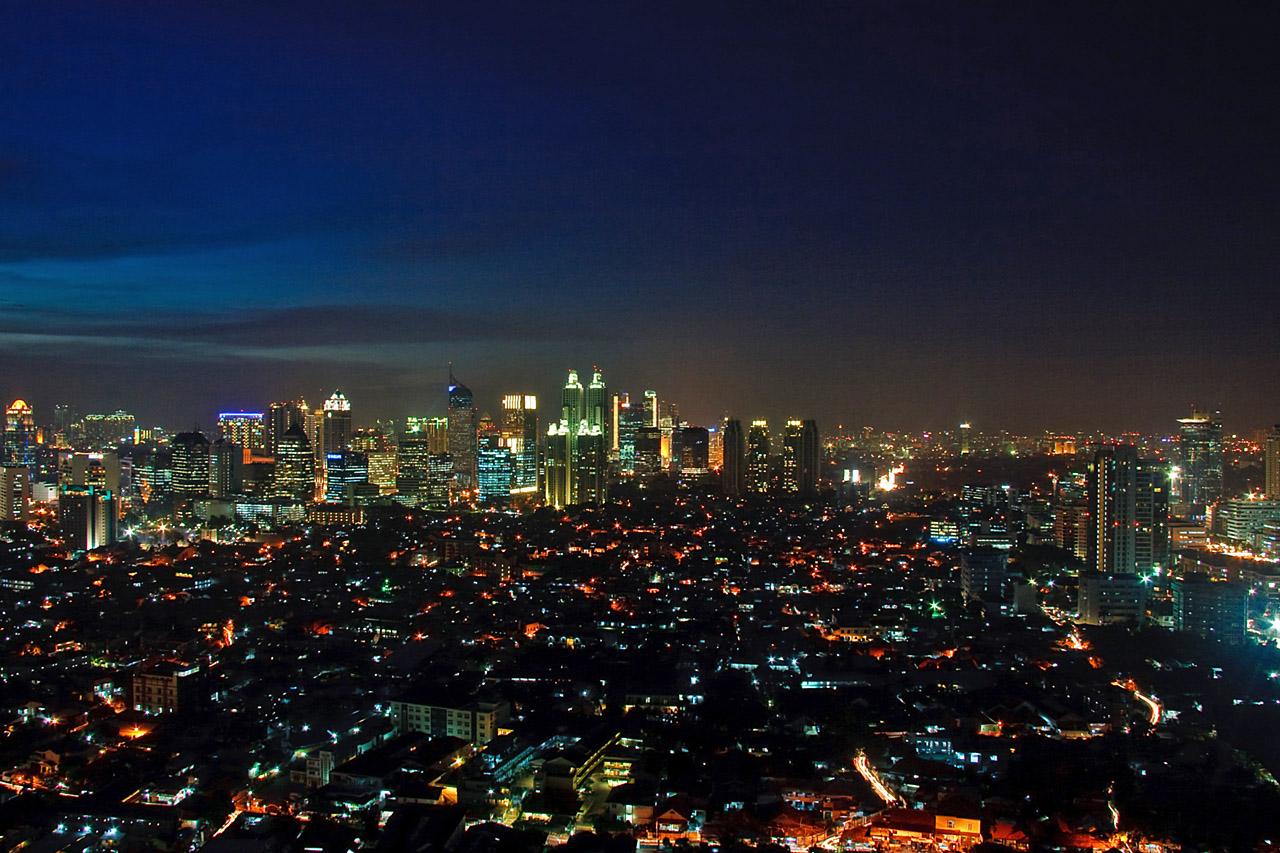 Über den Dächern Jakartas